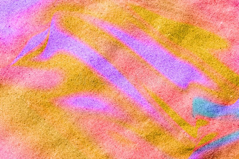 Abstract trendy creative colorful textured background, for design and decorations, digitally generated image. Used fluid art technique royalty free stock photography