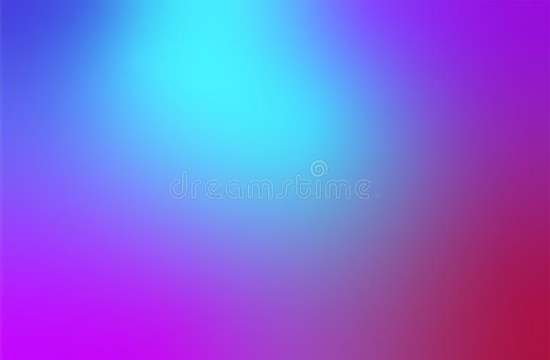 Abstract Trendy Multi Colorful blurred gradient background for Modern Bright Website Banner or Invitation Card graphic stock illustration