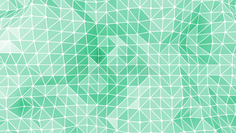 Abstract triangles geometric background vector illustration