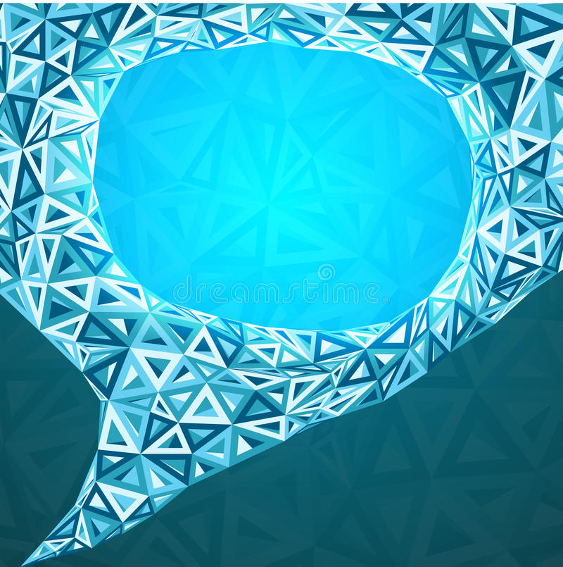 Download Abstract Triangles Idea Bubble Stock Illustration - Image: 29869425