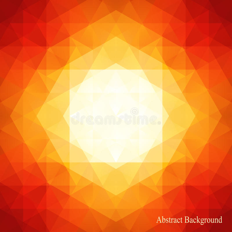 Abstract Book Cover Background : Abstract triangles pattern background can be used for