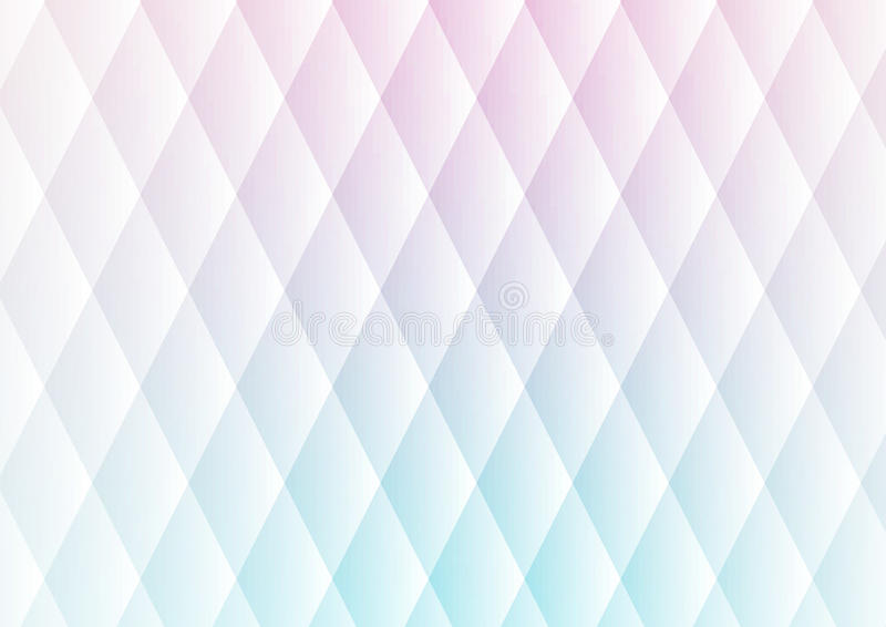 Abstract triangles soft light pattern background. Abstract pink and blue triangles soft light pattern background royalty free illustration