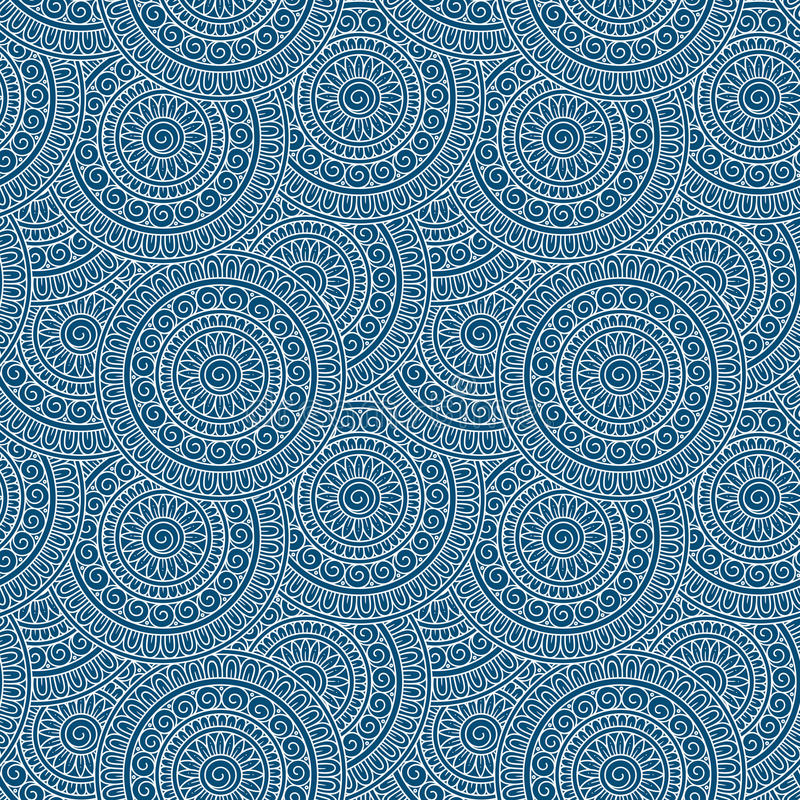 Abstract tribal ethnic seamless pattern royalty free stock images