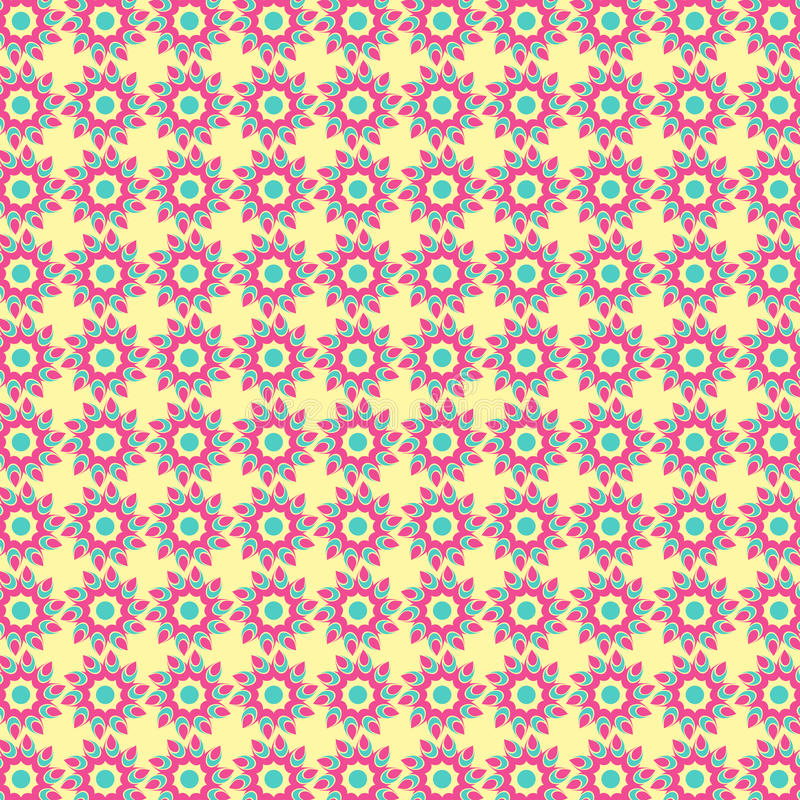 Download Abstract Tribal Flower Pattern Stock Vector - Image: 40668964