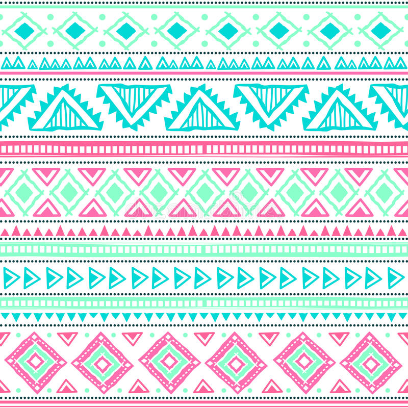 Download Abstract tribal pattern stock vector. Illustration of handmade - 30069390