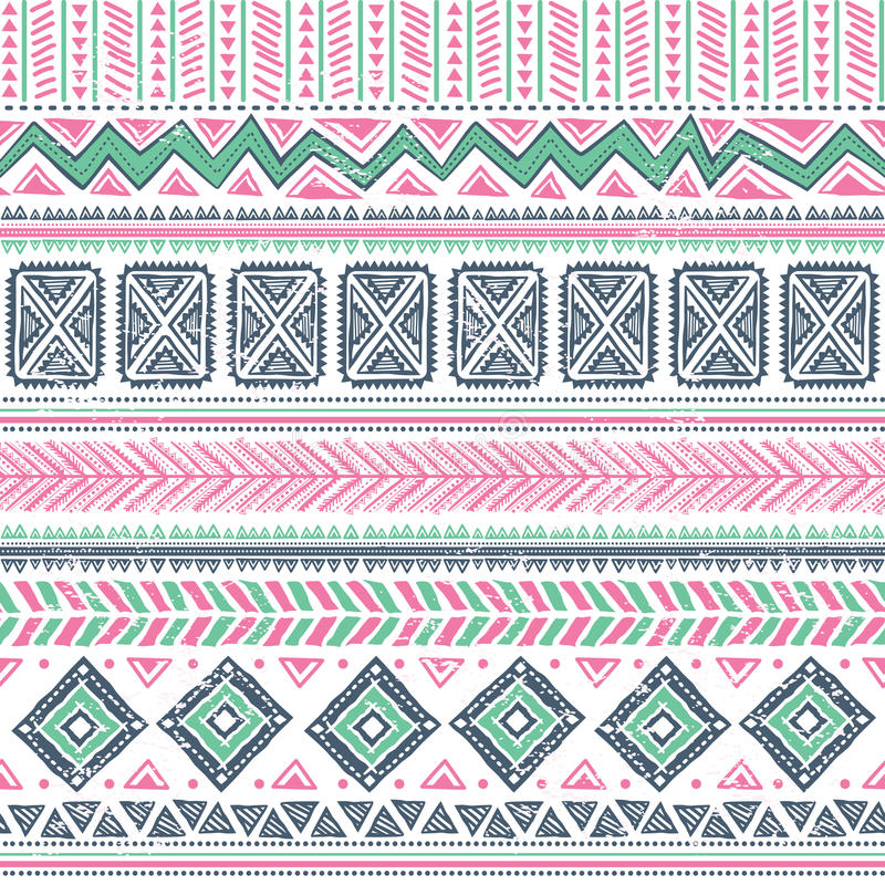 Download Abstract tribal pattern stock vector. Image of arabic - 31110555
