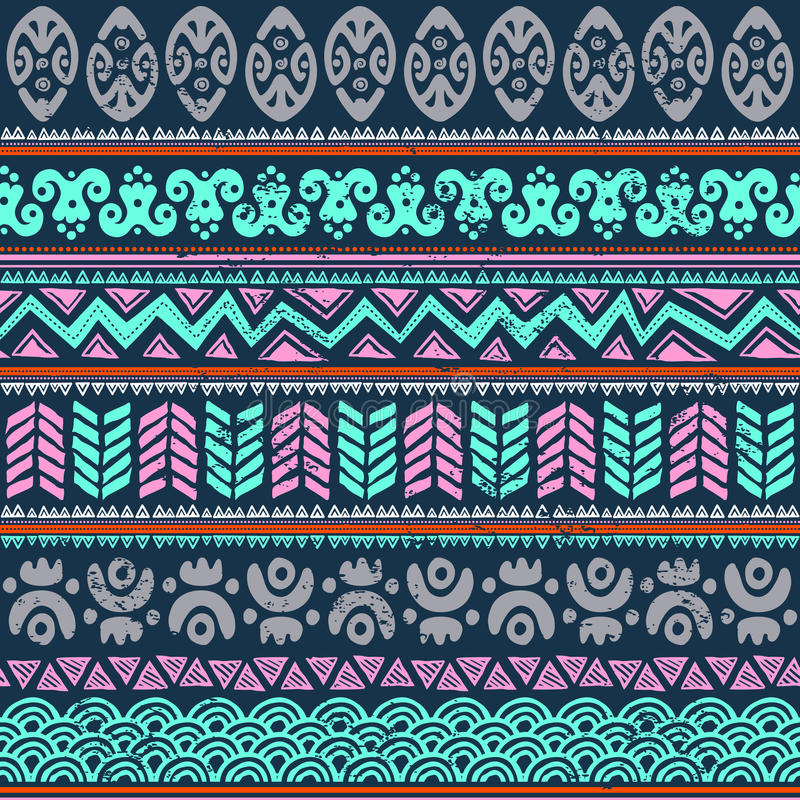 Download Abstract tribal pattern stock vector. Illustration of curve - 31154482