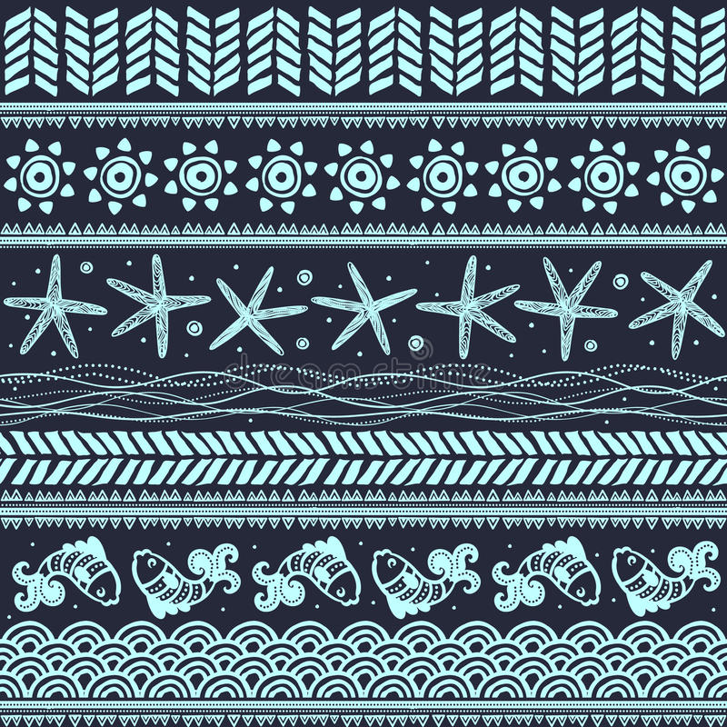 Download Abstract tribal pattern stock vector. Image of grunge - 31157560