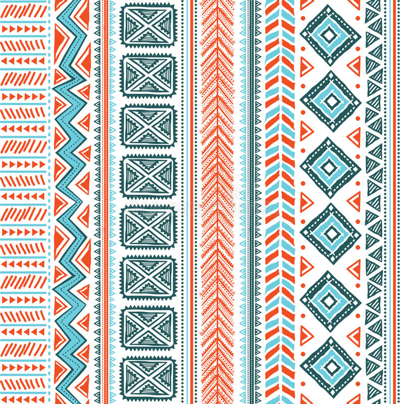 Download Abstract tribal pattern stock vector. Image of handmade - 31183720