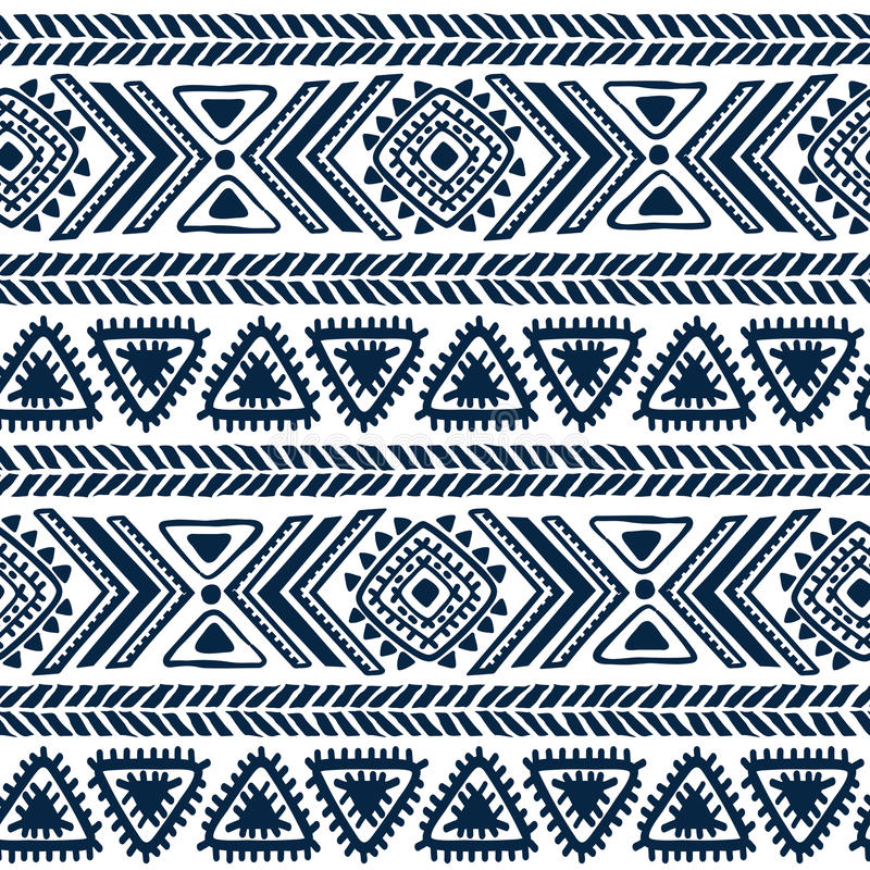 Abstract tribal pattern vector illustration