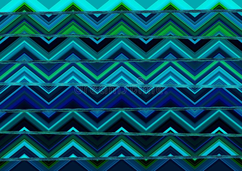 Download Abstract Tribal Pattern Wallpaper Stock Illustration