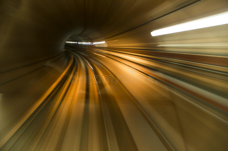 Abstract tunnel royalty free stock photos