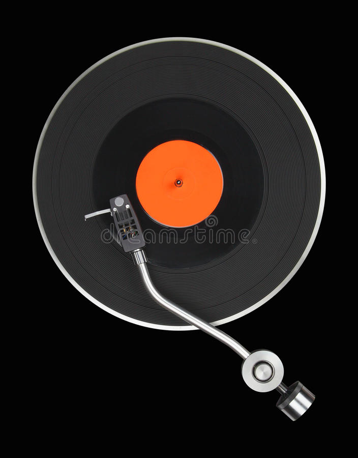 Abstract turntable royalty free stock image