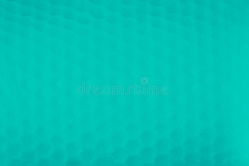 Abstract turquoise aqua aquamarine color background, honey comb pattern stock photos