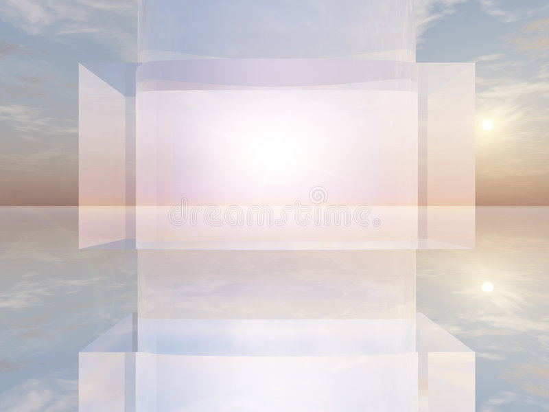 Abstract TV Screen Stock Photography