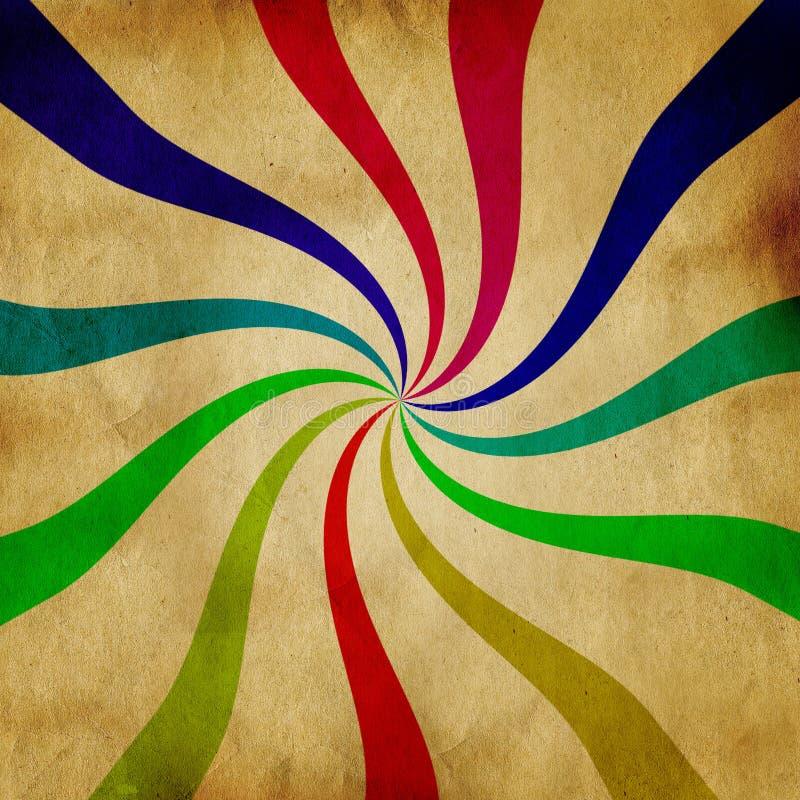 Abstract twirl pattern stock illustration