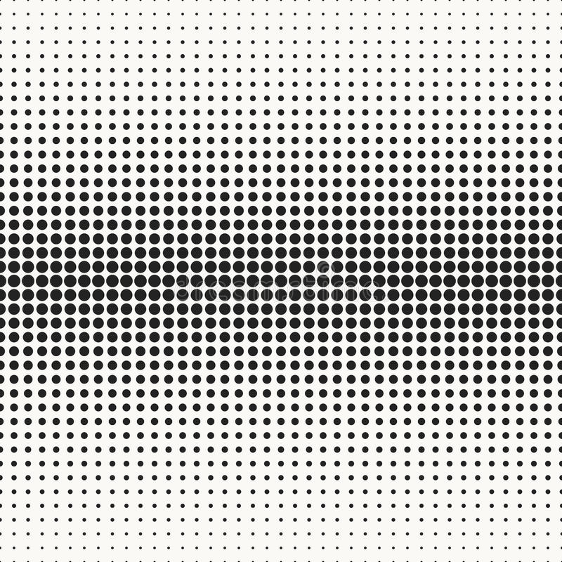 Abstract typographical halftone background vector illustration