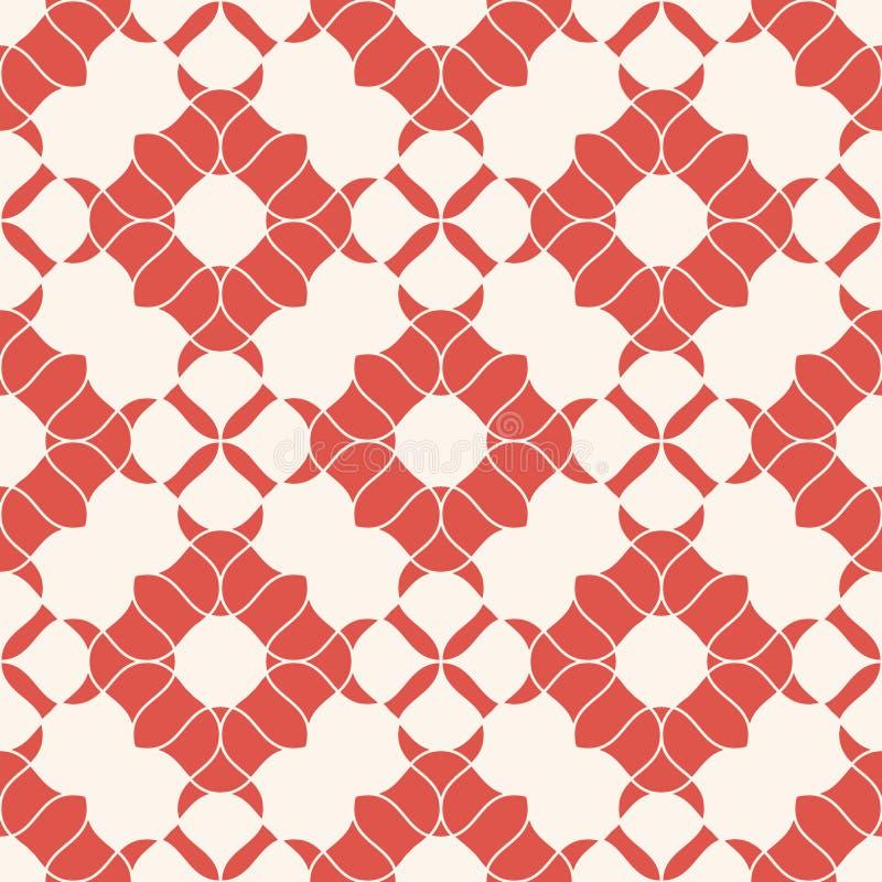 Abstract uitstekend bloemen naadloos patroon Elegante retro achtergrond in oosterse stijl vector illustratie