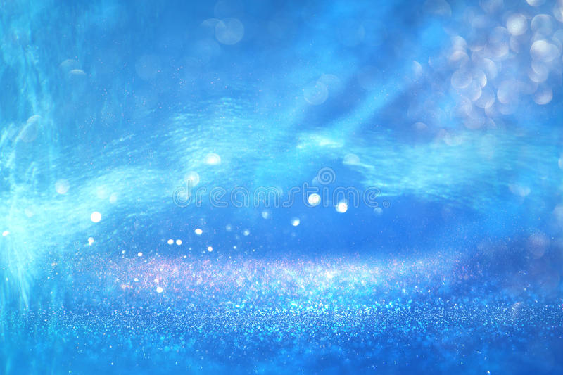 abstract under the sea background with glitter overlay and textures stock photography