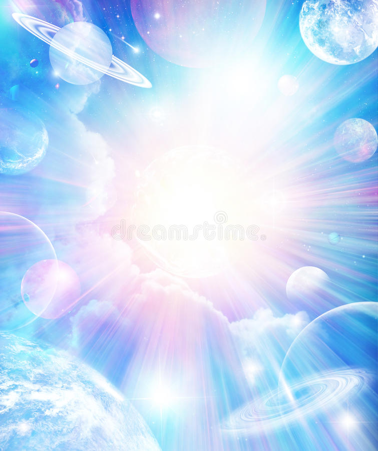 Abstract Universe Background vector illustration