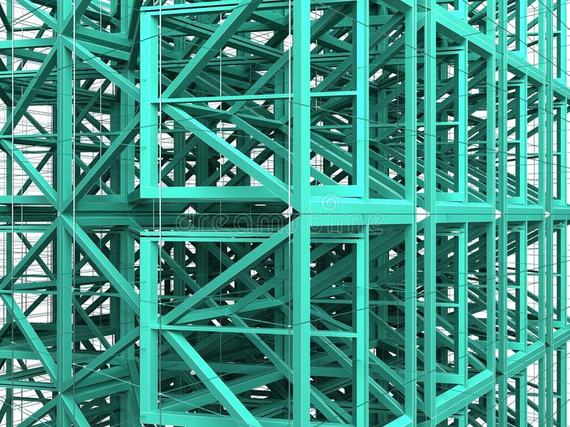 Download Abstract Urban Constructions 02 Stock Illustration - Image: 17961825