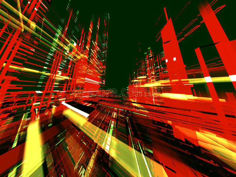 Abstract Urbanism Background Royalty Free Stock Photography