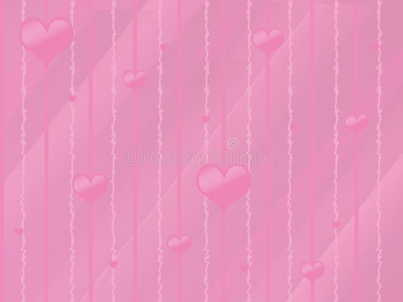 Abstract Valentine Background stock illustration