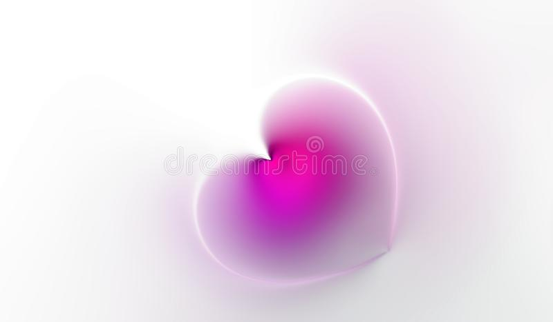 Abstract valentine heart of Rose Rose petals with textured background vector illustration