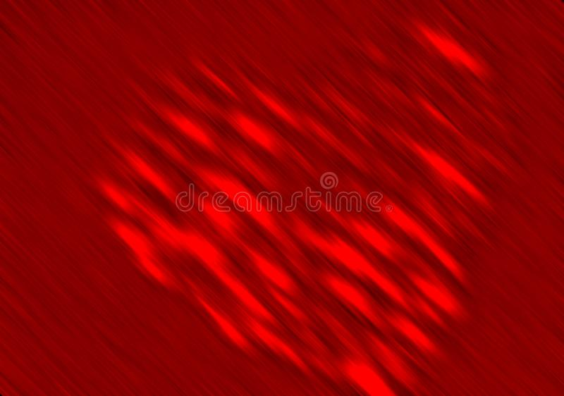 Abstract valentine heart with textured background stock photography
