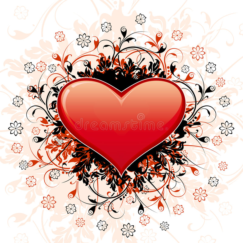 Download Abstract Valentine's Day Heart Royalty Free Stock Photography - Image: 7323827