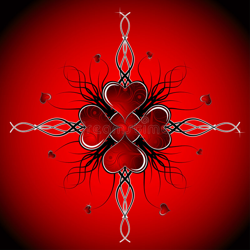Download Abstract Valentines Background, Vector Stock Vector - Image: 1650452