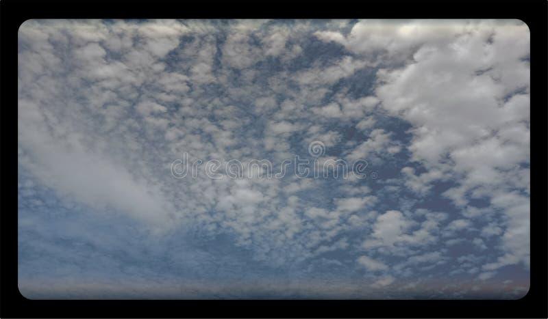 Abstract van de wolkentextuur saai malplaatje als achtergrond voor website, abstract het malplaatjeontwerp van de informatiegrafi royalty-vrije stock foto