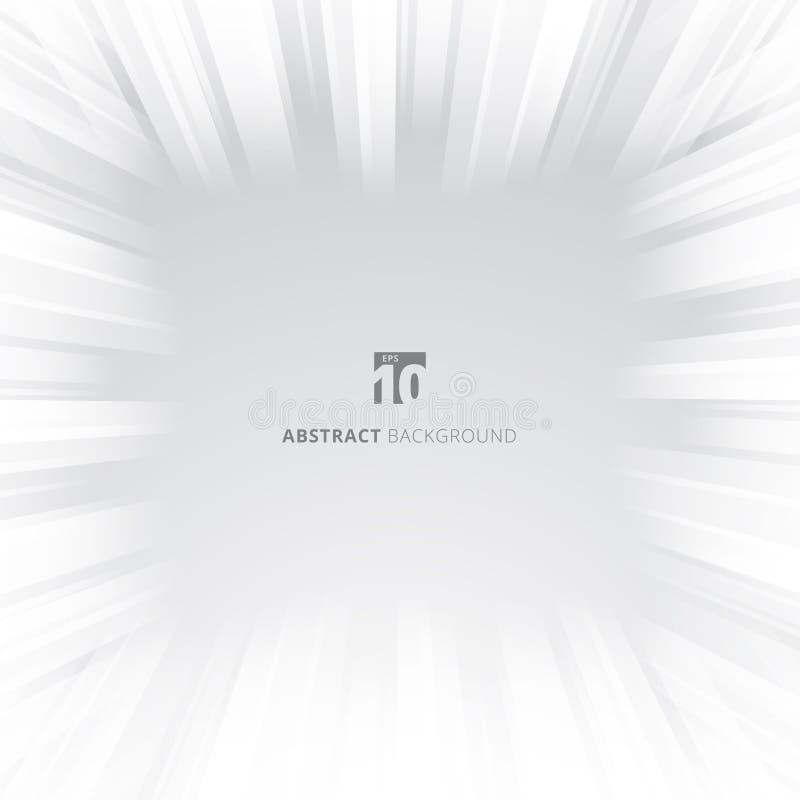 Abstract van het de tunnel lichteffect van de gloedsnelheid de motieonduidelijk beeld stock illustratie