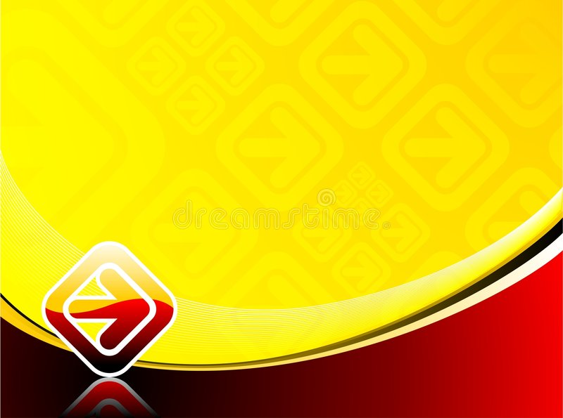 Abstract vector background. With arrow vector illustration
