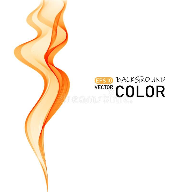 Abstract vector background, color flow waved lines for brochure, website, flyer design. Eps10 vector illustration