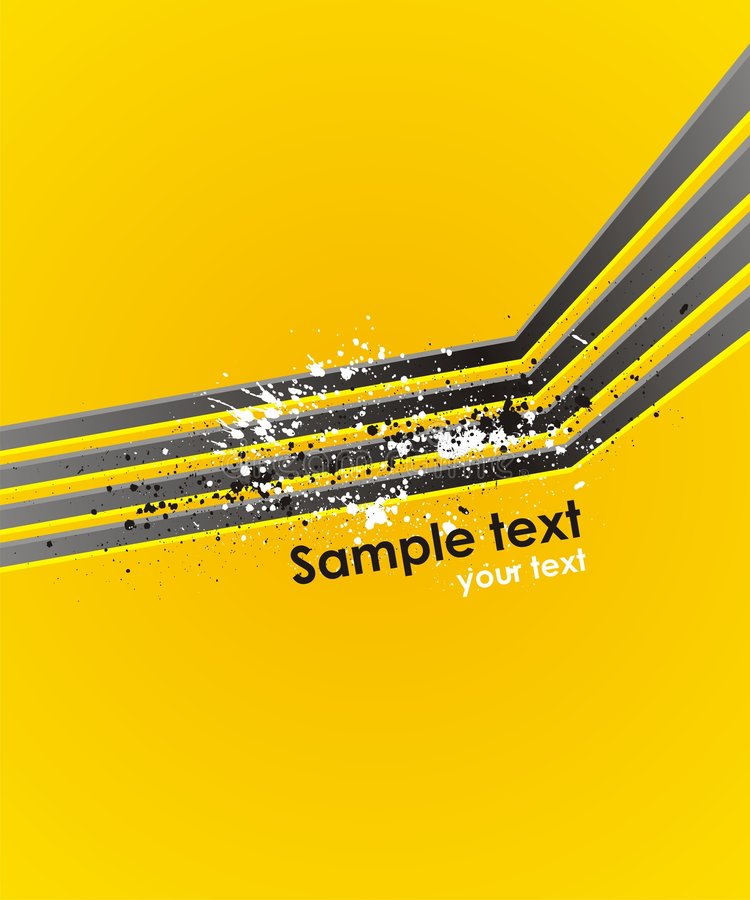 Abstract vector background with modern lines. Dynamic vector background with modern lines stock illustration