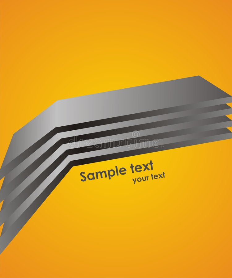 Abstract vector background with modern lines. Dynamic vector background with modern lines royalty free illustration