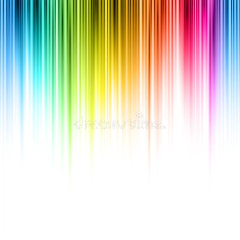 Abstract vector background. Seamless horizontally vector illustration
