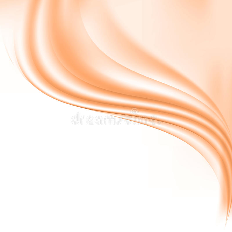 Free Abstract Vector Background. Smooth,silky Waves.Design Element Stock Photos - 93094863