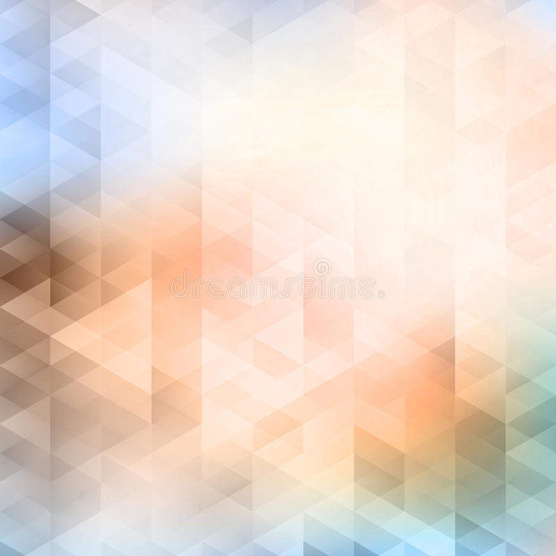 Abstract vector background. Abstract triangles background. EPS 10 vector illustration. Used meshes and transparency layers of particles vector illustration