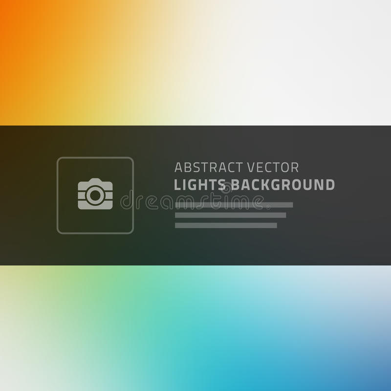 Abstract vector background for website header royalty free illustration