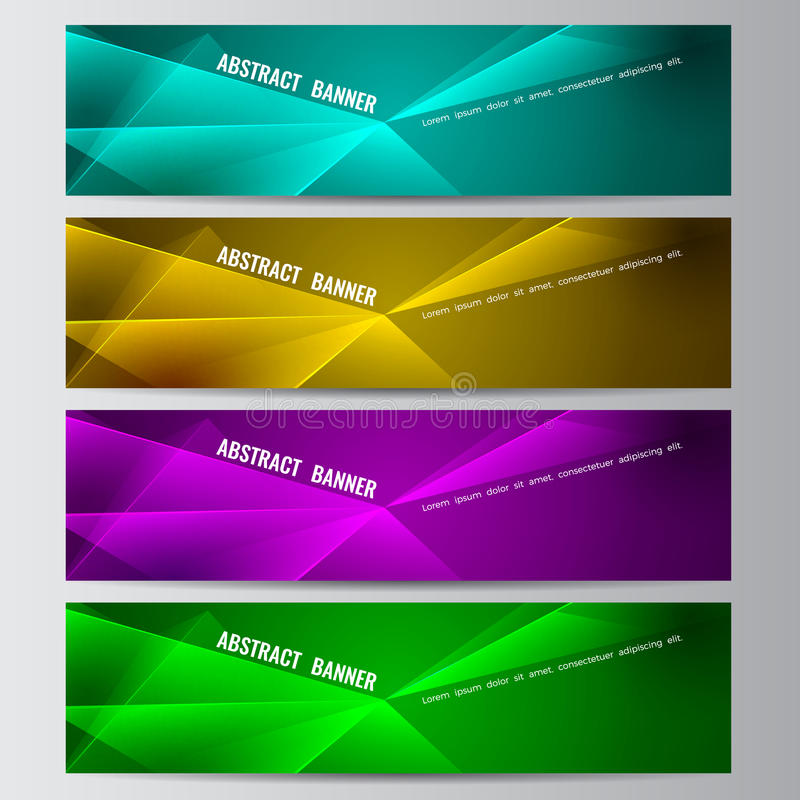 Download Abstract Vector Banner Business Background Stock Vector - Illustration of insert, blank: 83719937