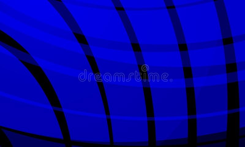 Abstract vector blue and black shaded wavy background with, smooth, curve, vector illustration. Many uses for paintings,printing,mobile backgrounds, book,covers vector illustration