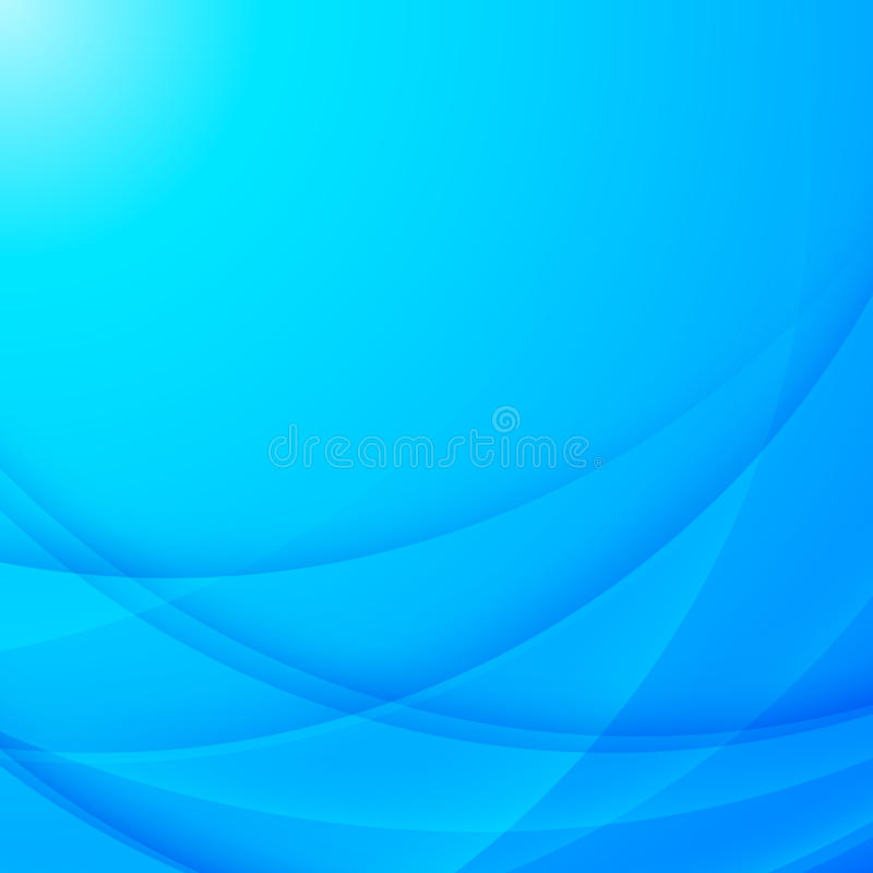 Abstract vector blue business background vector illustration