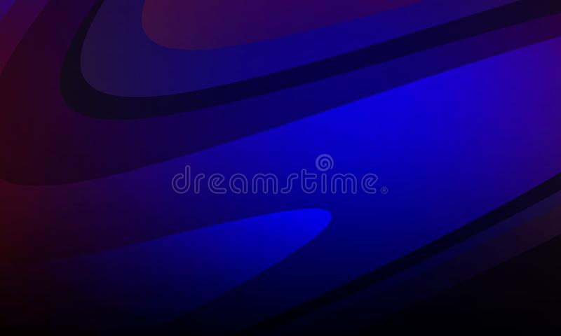 Abstract vector colorful shaded wavy background with lighting effect, smooth, curve, vector illustration. Many uses for paintings,printing,mobile backgrounds royalty free illustration