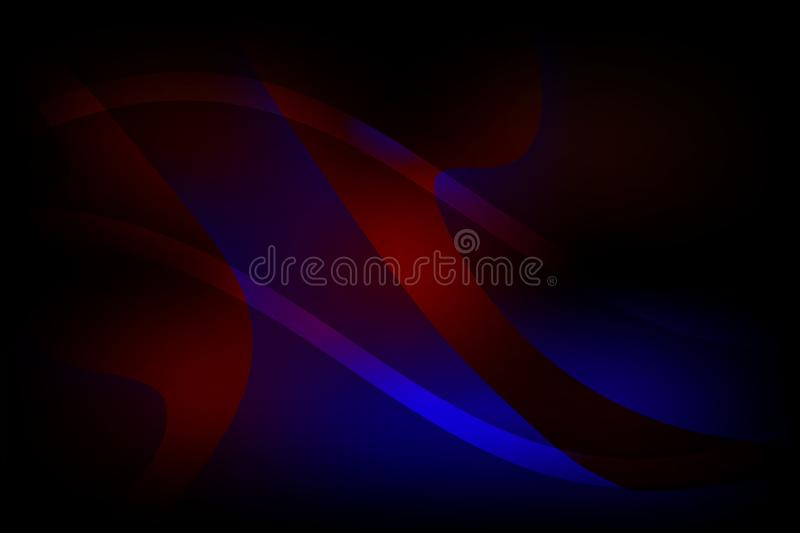 Abstract vector colorful shaded wavy background with lighting effect, smooth, curve, vector illustration. Many uses for paintings,printing,mobile backgrounds vector illustration