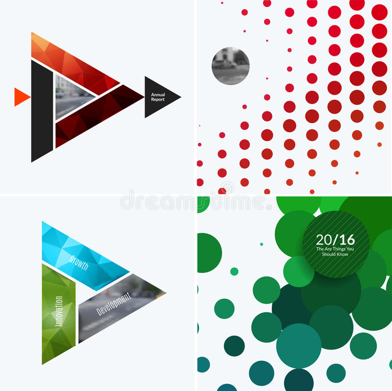 Download Abstract Vector Design Elements For Graphic Layout. Modern Business Background Template With Colourful Triangles, Stock Image - Image of material, communication: 94716121