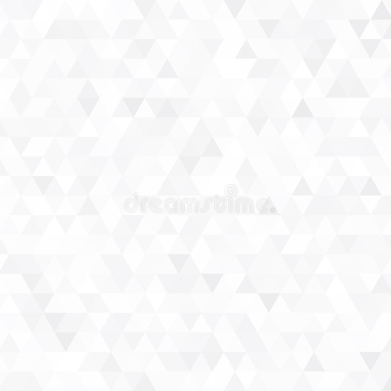 Abstract vector gray triangle background. Geometric white texture pattern.  vector illustration