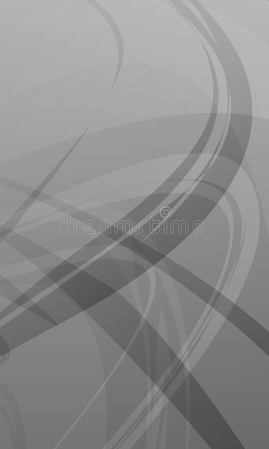 Abstract vector grey scale shaded wavy background,wallpaper, vector illustration vector illustration