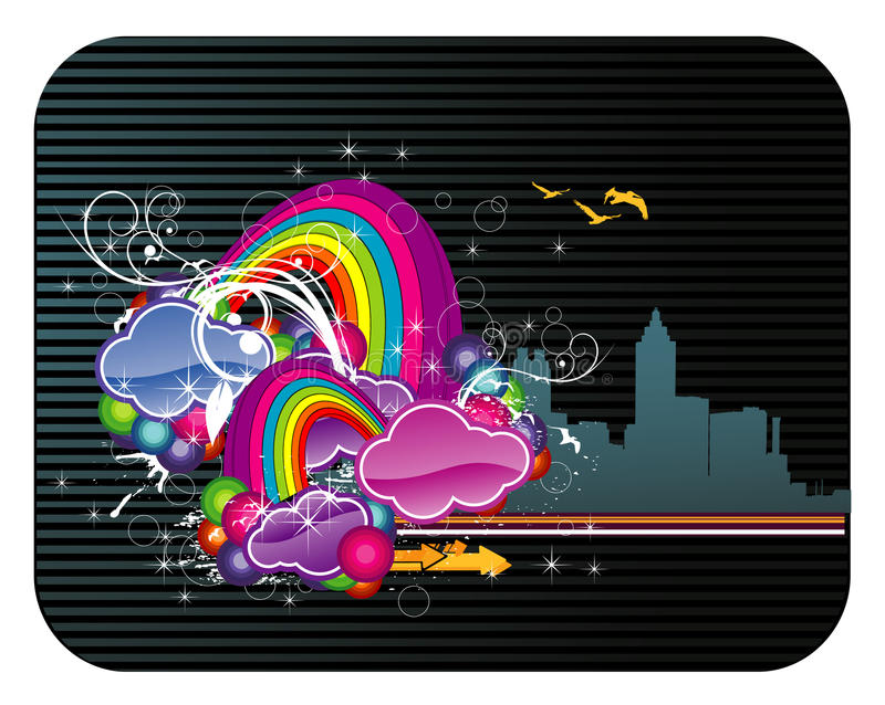 Download Abstract Vector Illustration Stock Vector - Image: 10028642